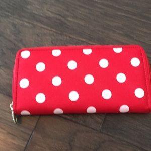 Handbags - Polk a dot purse